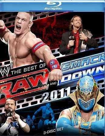 WWE-RAW & SMACKDOWN-BEST OF 2011 (BLU RAY/3DISCS) WWE-RAW - Wwe Raw And Smackdown 2011