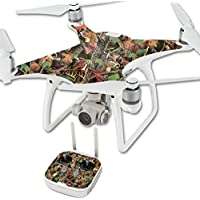 Skin For DJI Phantom 4 Quadcopter Drone – Buck Camo | MightySkins Protective, Durable, and Unique Vinyl Decal wrap cover | Easy To Apply, Remove, and Change Styles | Made in the USA