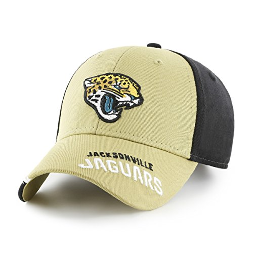 NFL Jacksonville Jaguars Youth Rivet OTS All-Star MVP Adjustable Hat, Youth, Black