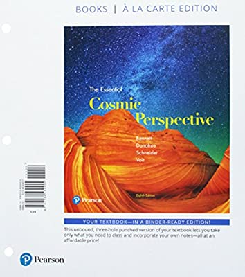 Essential Cosmic Perspective The Books A La Carte Plus
