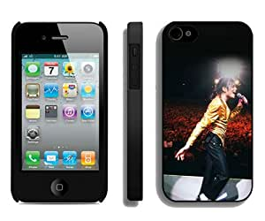 Hot Sale And Popular iPhone 4 4S Case Designed With Michael Jackson Moonwalk iPhone 4 4S Phone Case