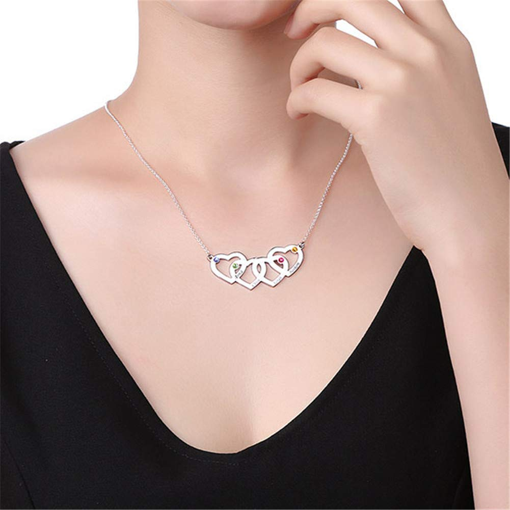 "Custom 14K Rose Gold Finish Women Heart Pendant Simulated Diamond w//18/"" Chain"