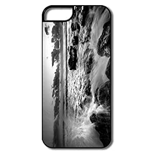 Design Geek Friendly Packaging Sea Black White Image IPhone 5/5s Case For Couples