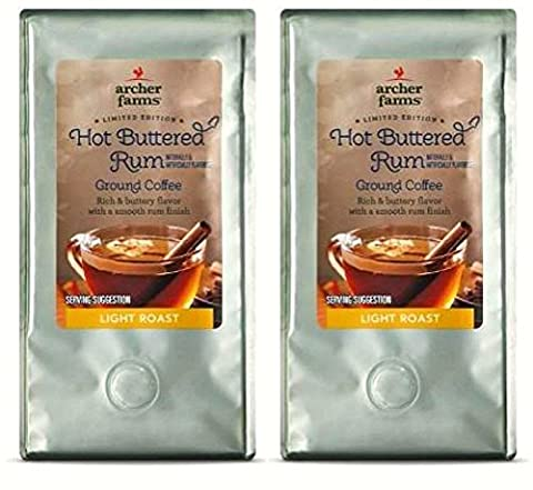 Archer Farms Limited Edition Hot Buttered Rum Light Roast Ground Coffee - 2 Pack - Hot Buttered Rum