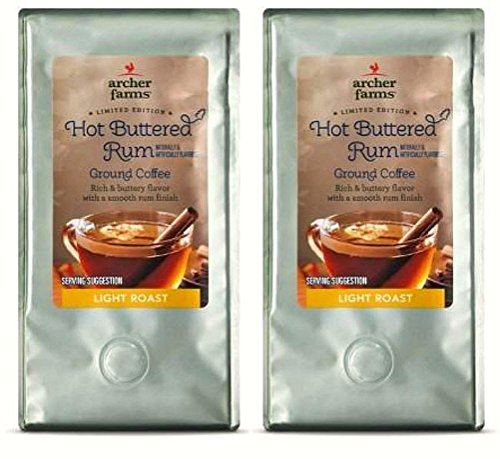 Archer Farms Limited Edition Hot Buttered Rum Light Roast Ground Coffee - 2 Pack