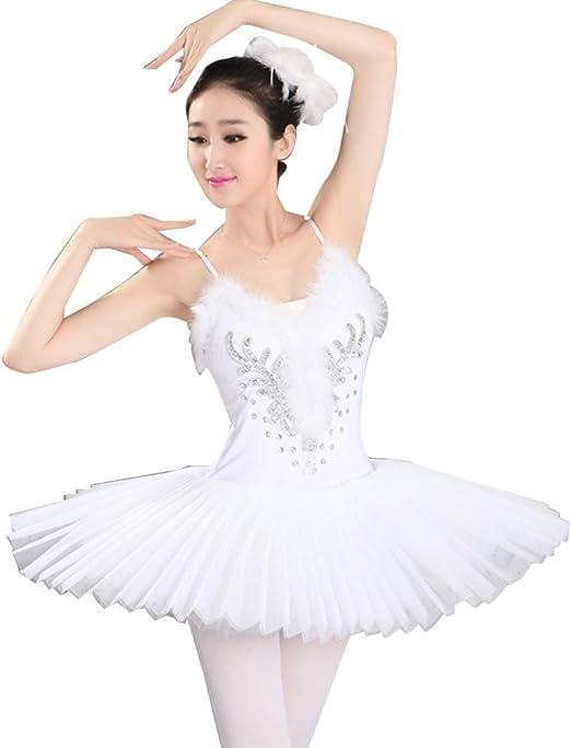 Xiao Jian- Falda de Ballet Adulto Gasa Traje de competición de ...