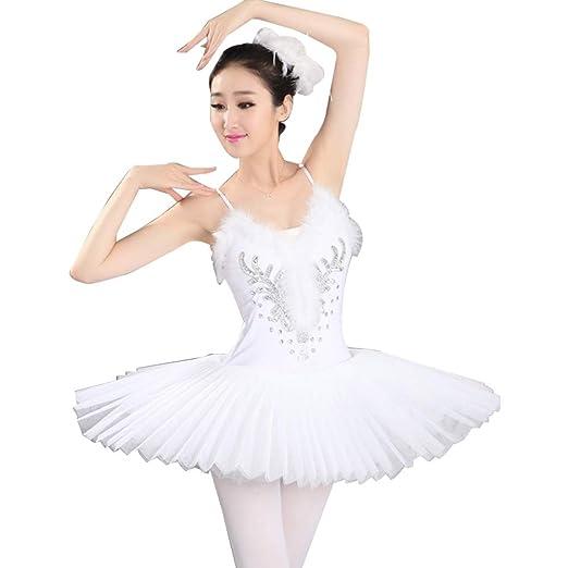 Xiao Jian- Falda de Ballet Adulto Gasa Traje de competición ...