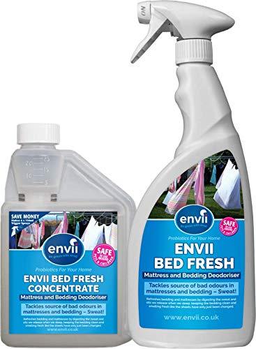 Envii Bed Fresh – Desodorante para Colchón y Ropa de Cama, Limpiador y Neutralizador de