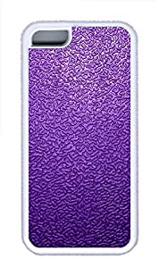 iPhone 5C Cases & Covers - Purple Traces The Background Custom TPU Soft Case Cover Protector for iPhone 5C¨CWhite