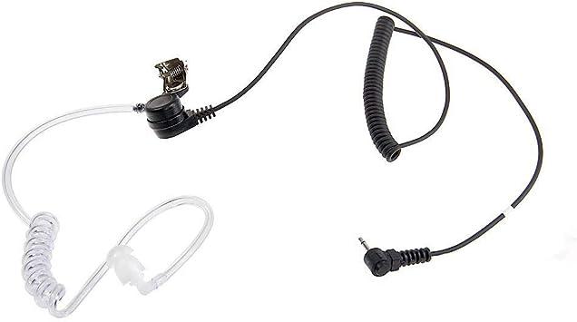 Ecloud Shop 2 5mm Security Headset Ohrhörer Elektronik