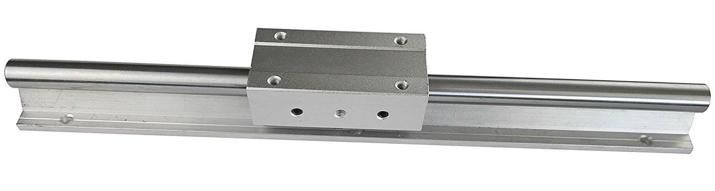 テンハイTEN-HIGH リニアレール リニアウェイ CNC部品 ペアリングユニット付き SBR35+SBR35LUU 直径35mm 長さ1300mmB01MY7LTCN1300mm