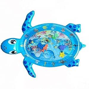 zaote - Alfombrilla Hinchable Tummy Time para Agua, Tortugas ...