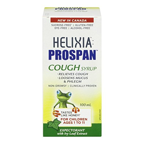Helixia Prospan Children's Cough Syrup ages 1 to 11 Childrens Formula Cough Syrup