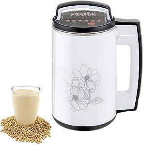 MXBAOHENG Soy Milk Maker Automatic Soybean Making Machine Nut Milk Maker Juicer 110V