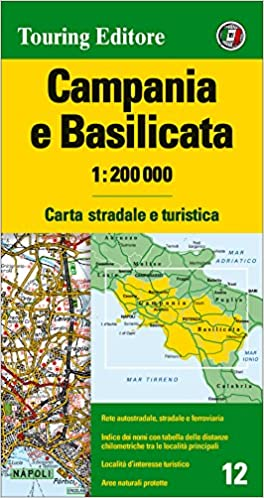 Cartina Basilicata.Amazon It Campania E Basilicata 1 200 000 Carta Stradale E Turistica Aa Vv Libri In Altre Lingue