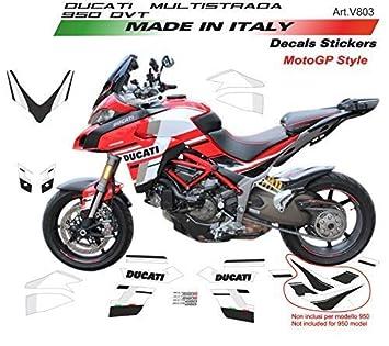 Vulturbike Stickers Kit For Ducati Multistrada 950 Dvt