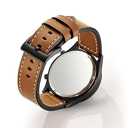 Aresh Bracelet en cuir pour Samsung Gear S3 Frontier et Classic Amazon.fr  High,tech