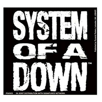 Pegatina Vinilo System Of A Down