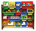 Tot Tutors WO420 Discover Collection Supersized Wood Toy Storage Organizer Toddler