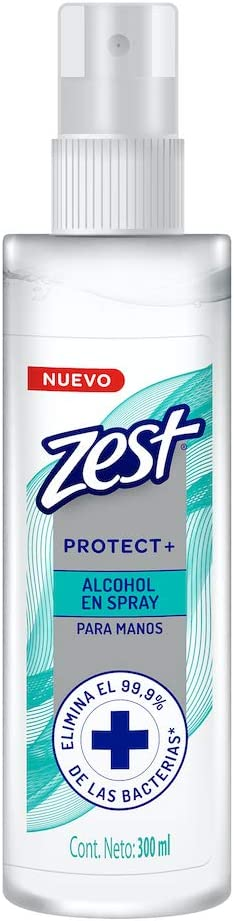ZEST ALCOHOL ANTIBACTERIAL EN SPRAY 300ML: Amazon.com.mx