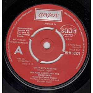 Michael Zager & The Moon Band Featuring Peabo Bryson - This Is The Life / Do It With Feeling