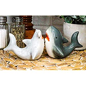 51Ugaxd%2Bi-L._SS300_ Beach & Coastal Themed Salt and Pepper Shakers