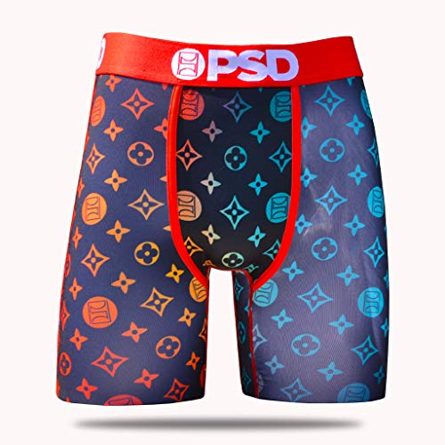 db2352edd PSD Underwear Mens Pattern III Athletic Boxer Briefs, Red, M from PSD  Underwear