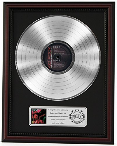 KID ROCK PLATINUM LP RECORD FRAMED CHERRYWOOD DISPLAY