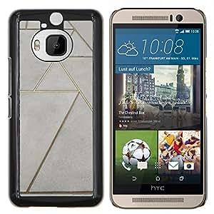 Stuss Case / Funda Carcasa protectora - Piso Diseño arte de la pared - HTC One M9Plus M9+ M9 Plus