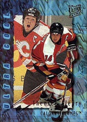 1995-96 Fleer ULTRA w Extra Calgary Flames Team Set 12 Cards Theoren Fleury
