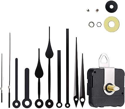 "Silent Wall Clock Movement Kits for Quartz DIY Hands Mechanism Repair Tool UK/"""