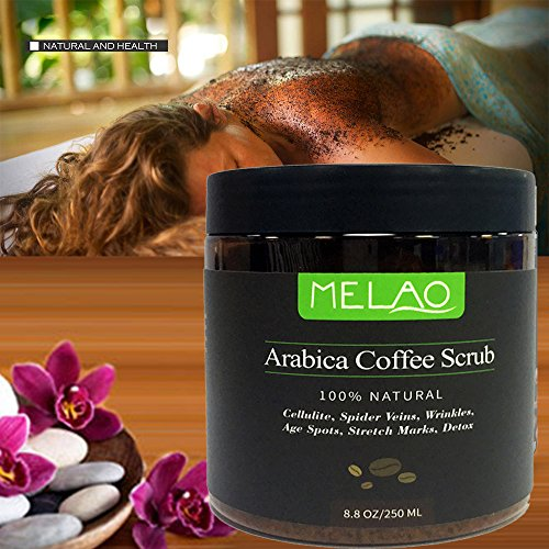 Misyo Body Arabica Coffee Scrub Natural Oil Body Scrub For Exfoliating Whitening Moisturizing Reducing Cellulite