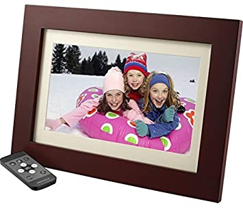 insignia 10 digital photo frame espresso
