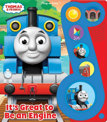 Thomas & Friends It's Great to Be an Engine Song Book by PUBLICATIONS INTERNATIONAL, LTD (Image #2)