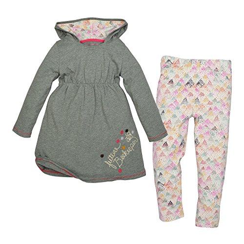 Price comparison product image Burt's Bees Baby Baby Girls' Top and Pant Set, Tunic and Legging Bundle, 100% Organic Cotton
