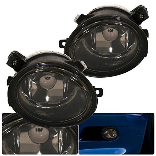 BMW E39 M5 E46 3-Series Sedan/Wagon Sports Package M3 Coupe Front Bumper Driving Smoked Lens Fog Lights