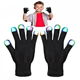 Toys for 4-8 Year Old Boy, DMbaby Gifts for 5-8 Years Old Girl, Toys for Kids Gifts for Kids LED Flashing Gloves LED Lights for Costumes G07