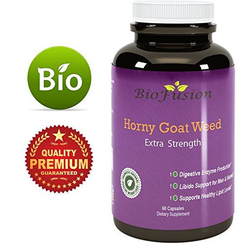 1000 mg Naturlig Horny Goat Weed Supplement Med Icariin-5892