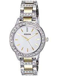 Fossil Women's ES2409 Jesse Two-Tone Stainless Steel...