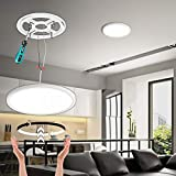 2 Pack Dimmable LED Flush Mount Ceiling