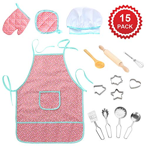 15pc Apron and Accessory Set