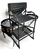 TUSCANY PRO Tall Makeup Chair w/POWER STRIP-(29