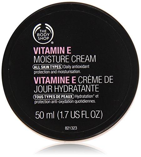 The Body Shop Vitamin E Moisture Cream unisex, Vitamin E Feuchtigkeitscreme 50 ml, 1er Pack (1 x 50 ml)