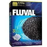 Fluval Carbon,100-gram Nylon Bags , Pack of 3