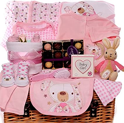 10 pieces Pink Baby Shower Pushchair 3D Favour Bag Girl /& Boy Gift Box UK