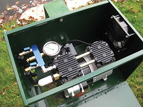 1/2 HP Sentinel Rocking Piston Deluxe Pond Aeration System PA66ADP Includes Diffusers by EasyPro Pond Products