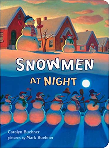 Image result for snowmen at night