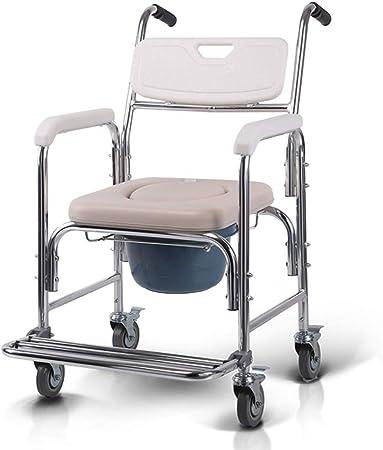 Toilette Chaise Fauteuil de Chevet pour fauteuils roulants