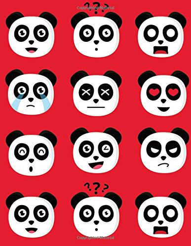 Download Emoji Notebook Lined Composition Journal For School Kids, Students And Teachers: 120 Page Ruled School Composition Notebook Journal With Fun Panda ... - 8.5 by 11 inches (Kool Kidz) (Volume 14) ebook