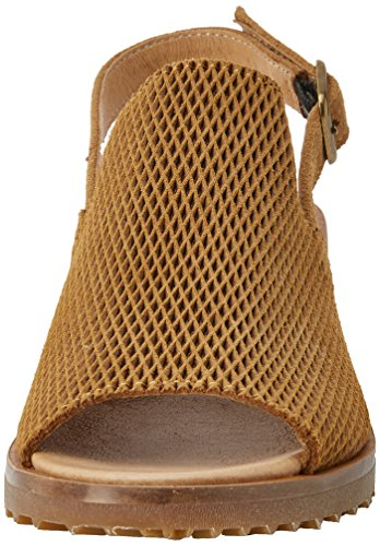 N5014 Women's Toe Camel Open Heels Brown Naturalista El 8EwIqU65x